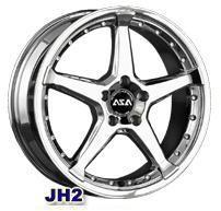Колесный диск Asa JH2 7x15/4x114,3 D73 ET35 серебро