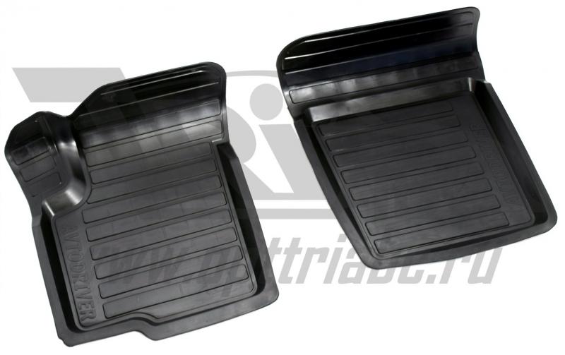Коврики салона резиновые с бортиком для Suzuki sx 4 (2008-2013) (2 передних), ADRAVG124 2
