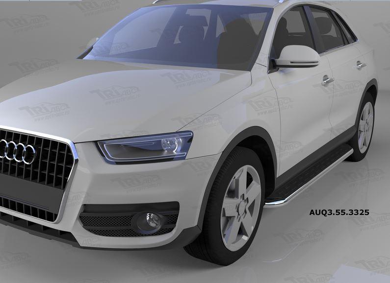 Пороги алюминиевые (Ring) Audi (Ауди) Q3 (2011-), AUQ3553325
