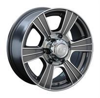 Колесный диск LS Wheels 160 7x16/5x139,7 D73.1 ET35 серый полированный (GMF)