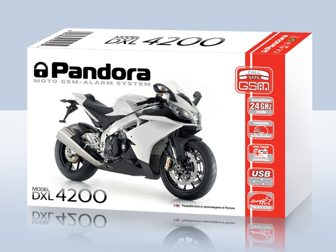 Мотосигнализация PANDORA DXL4200