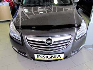 Дефлектор капота Opel Insignia (2008-) (темный), SOPINS0812