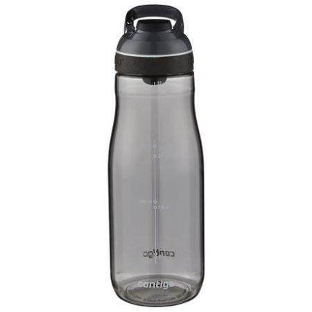 Бутылка для воды с автозакрывающимся клапаном для питья Cortland, серый, 1200 мл, 10000506