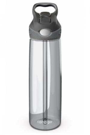 Бутылка для воды с носиком для питья Contigo Addison, серый, 750 мл, 10000200