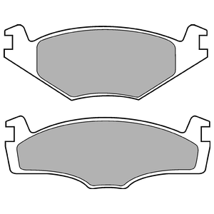 Колодки дисковые, DELPHI, LP756