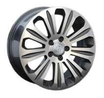 Колесный диск Ls Replica V17 7.5x17/5x108 D63.3 ET55 серый глянец, полированнные спицы и обод (GMF)