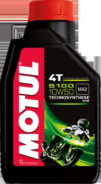 Моторное масло MOTUL 5100 ESTER, 10W-50, 1л, 104074