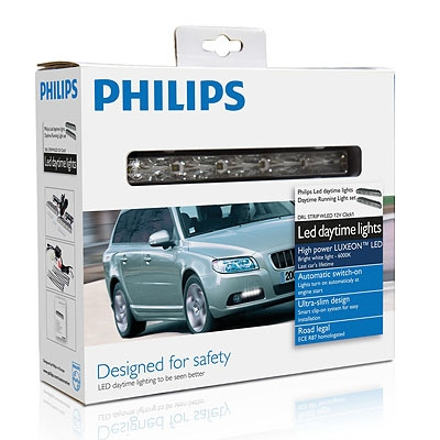 "Лампа ""LED Daytime Lights - 5"", 12 В, 10 Вт, Click 2, PHILIPS, 12810 WLEDX1"