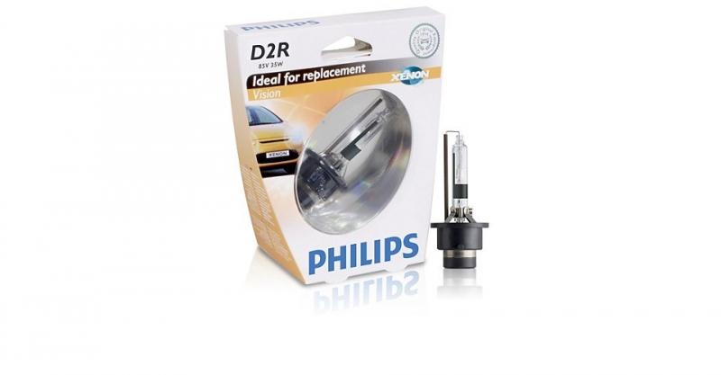 Лампа, 85 В, 35 Вт, D2R, P32d-3, PHILIPS, 85126VIS1
