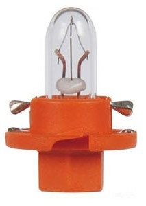 "Лампа ""Plastic base lamps"", 12 В, 1,1 Вт, BAX, BX8,4d, NARVA, 17046"