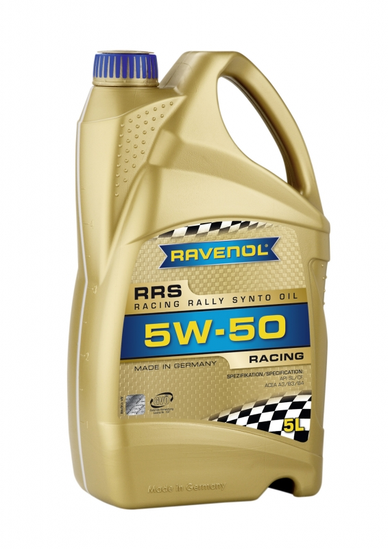 Моторное масло RAVENOL Racing Rally Synto, 5W-50, 5л, 4014835726956