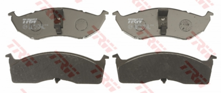 Колодки дисковые Передние, TRW, GDB1236