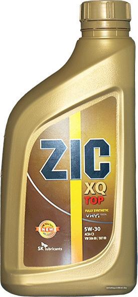 Моторное масло ZIC XQ Top, 5W-40, 1л, 137145