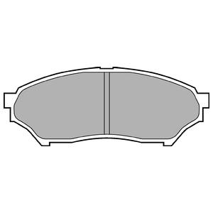 Колодки дисковые, DELPHI, LP1448