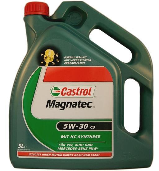 Моторное масло CASTROL Magnatec C3, 5W-30, 5л, 56835