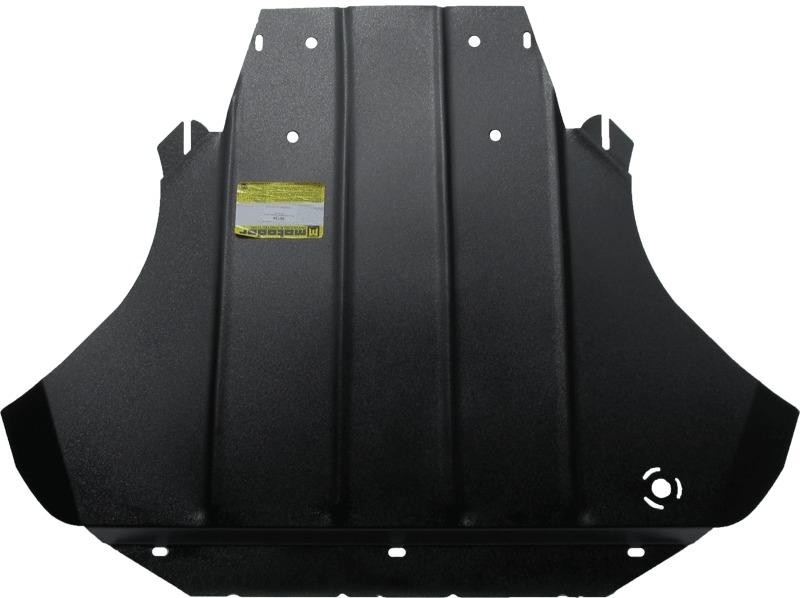 Защита картера двигателя, КПП Audi A8 (D3,4E) 2002-2010 V=3,2, 4,2 (сталь 2 мм), MOTODOR00134