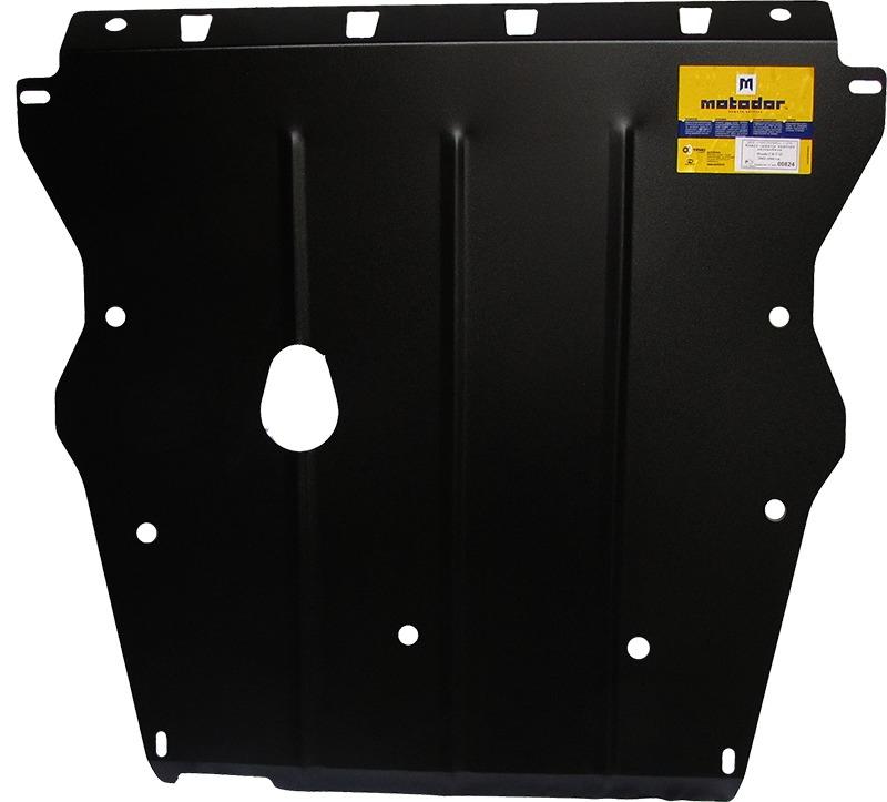 Защита картера двигателя, КПП Honda CR-V II 2001-2005 V=2,0, 2,4, (сталь 2 мм), MOTODOR00824