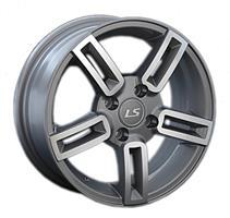 Колесный диск LS Wheels ZT384 5x13/4x98 D66.1 ET35 насыщенный темно-серый частично полированный (FGM