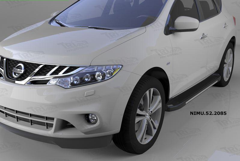 Пороги алюминиевые (Onyx) Nissan Murano (2008-), NIMU522085