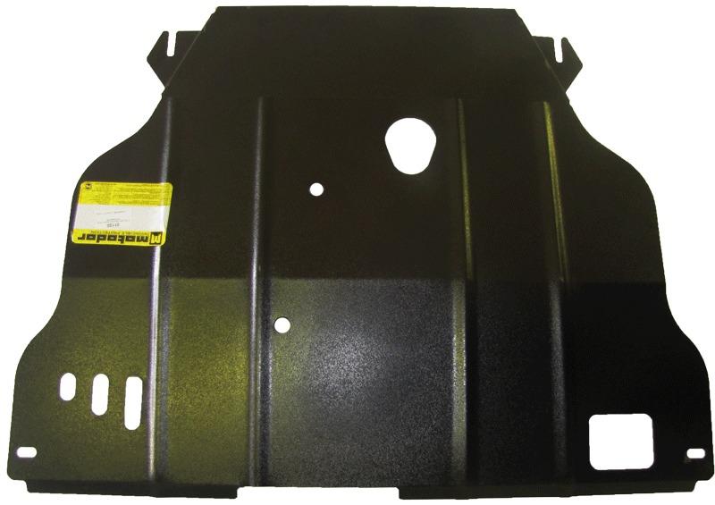 Защита картера двигателя, КПП Mazda 626 V (GF) 1998-2002 V=2TD (сталь 2 мм), MOTODOR01120