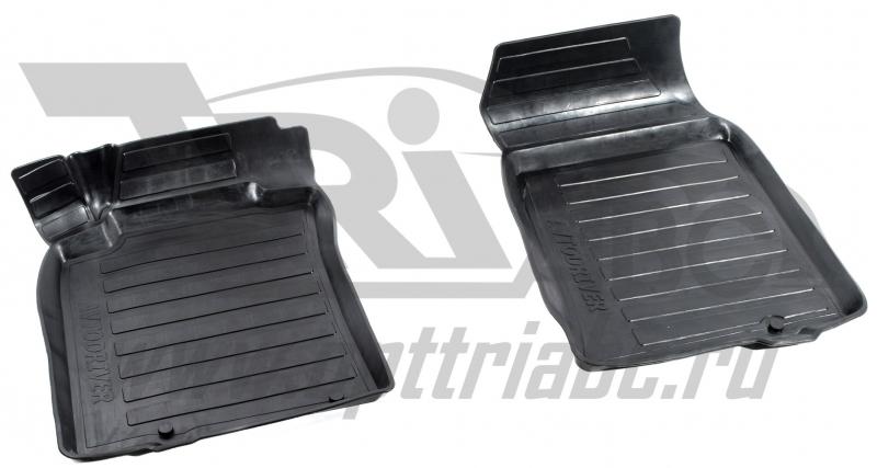Коврики салона резиновые с бортиком для Nissan Teana (2008-2014) (2 передних), ADRAVG1602