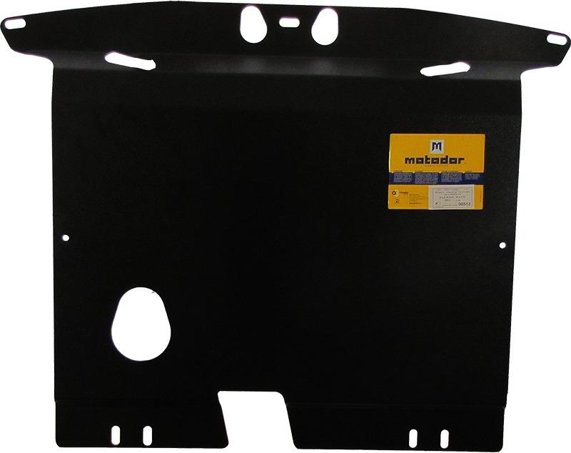 Защита картера двигателя, КПП Daewoo Matiz (KLYA) 1998-2000 Daewoo Matiz II 2000- V= все (сталь 2 мм