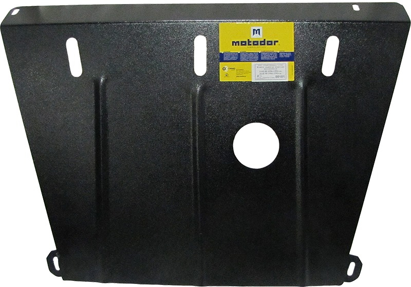 Защита картера двигателя Audi 80 V=1.6,1.8,1.9TD 1986-1996(сталь 2 мм), MOTODOR00101