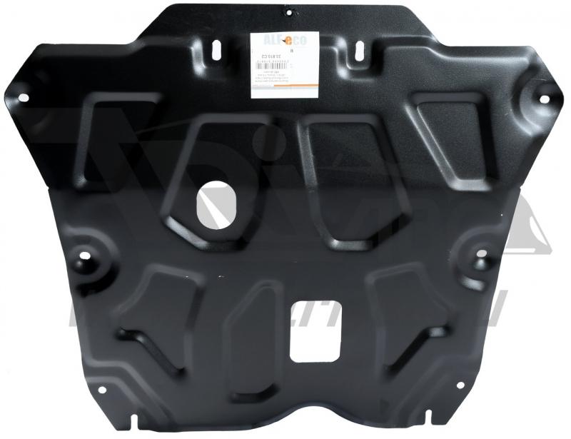 Защита картера двигателя и кпп Renault Duster,V-все (2012-)/Nissan Terrano, V-все (2014-)/Renault Ka