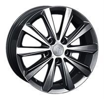 Колесный диск Ls Replica VW117 6.5x16/5x112 D57.1 ET33 черный матовый цвет (MB)