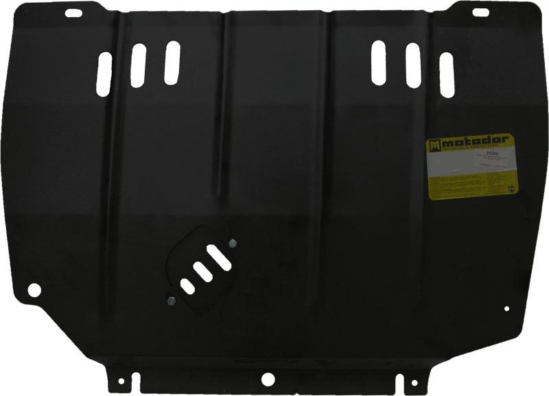Защита картера двигателя, КПП CHRYSLER PT Cruiser 2005-2010 V=2,4 (сталь 2 мм), MOTODOR00309