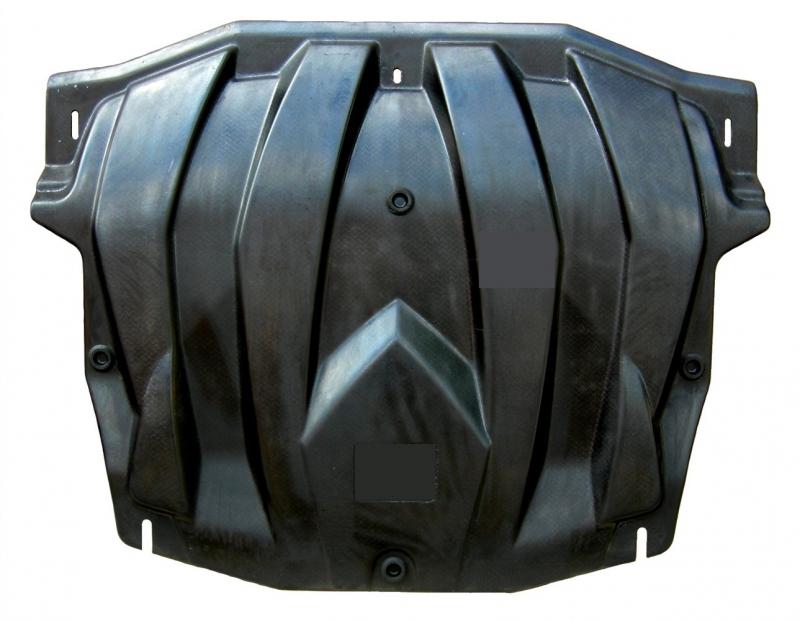Защита картера двигателя и кпп KIA Picanto (V-все, 2011-2015-) (Композит 6 мм), 1120K