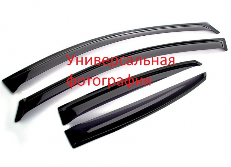 Дефлекторы окон Geely (Джили) CK Otaka (2009-), DGL101