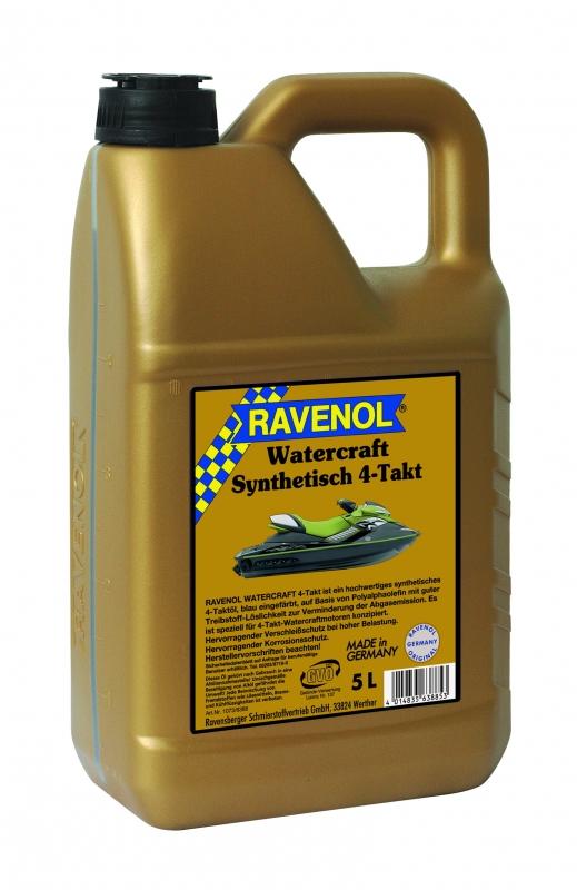Моторное масло RAVENOL WATERCRAFT 4-Takt, 5 л, 4014835638853