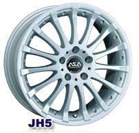 Колесный диск Asa JH5 7x15/5x114,3 D73 ET40 ртуть