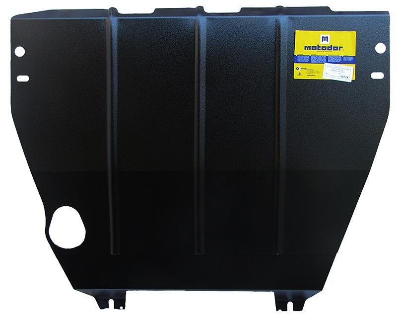 Защита картера двигателя, КПП Ford Galaxy 1995-2006 V-2.0; 2.3 (сталь 2 мм), MOTODOR00724