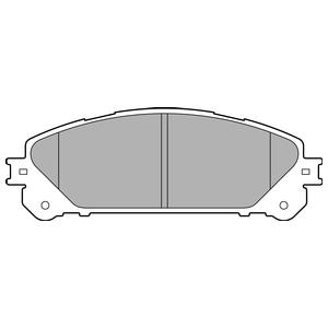 Колодки дисковые, DELPHI, LP2201