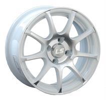 Колесный диск LS Wheels BY802 6x14/4x98 D58.6 ET35 белый полированный (WF)