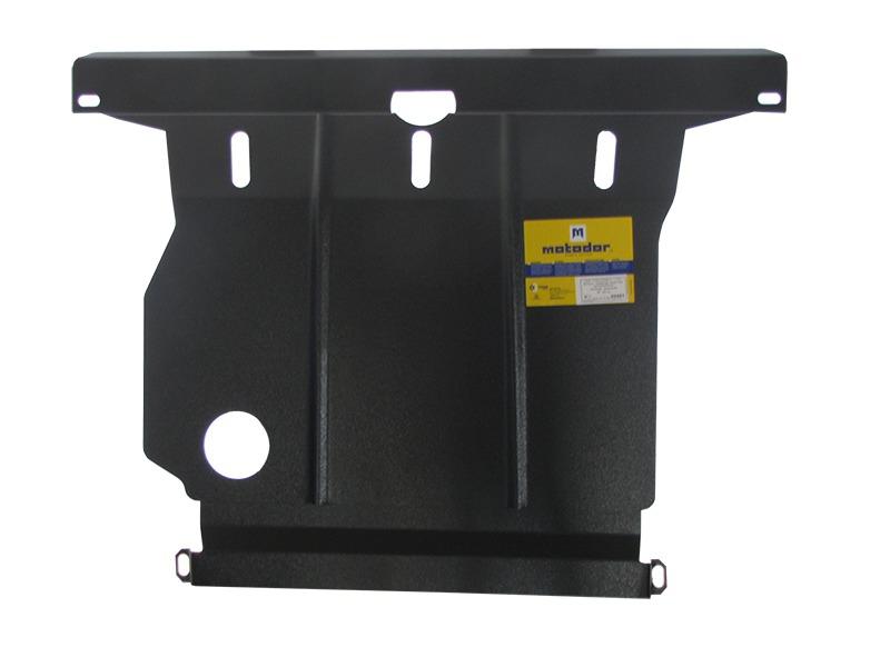 Защита картера двигателя, КПП Suzuki Baleno 1995- V= все (сталь 2 мм), MOTODOR02401
