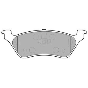 Колодки дисковые, DELPHI, LP1694