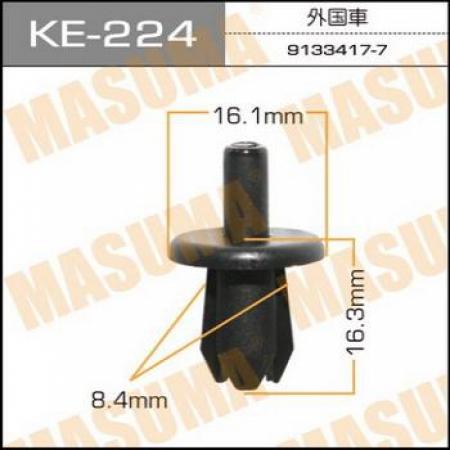 Клипса автомобильная (автокрепеж) MASUMA, KE224