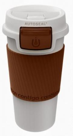 Термокружка Contigo Morgan с замком, шоколад, 360 мл, 10000233