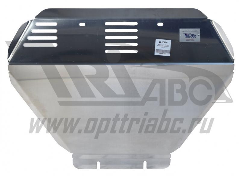 Защита картера Subaru Forester V-2.0Turbo, АКПП (2013-) (Алюминий 4 мм), 2207ABC
