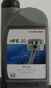 Моторное масло HONDA HFE-20, 0W-20, 1л, 08232-P99-A1L-HE