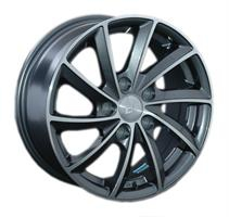 Колесный диск LS Wheels 276 6.5x15/5x114,3 D60.1 ET40 серый полированный (GMF)
