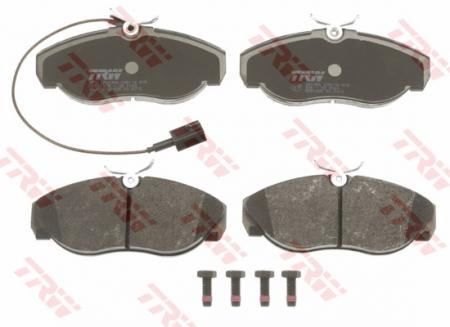 Колодки дисковые Передние, TRW, GDB1425