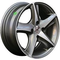 Колесный диск NZ SH605 5.5x13/4x100 D66.6 ET40 насыщенный темно-серый полностью полированный (GMF)