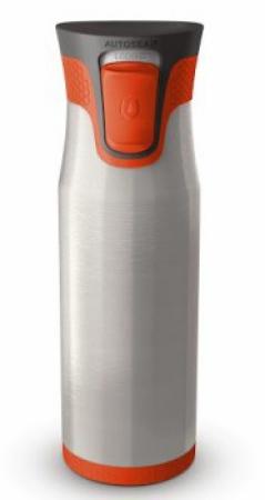 Термокружка-закрывашка Aria, оранжевая, 600 мл, 10000123