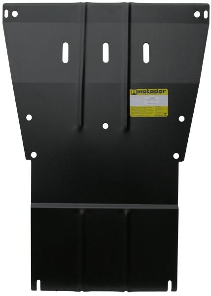 Защита картера двигателя, КПП MB Vito 2003-2014 V=2,2CDi (сталь 2 мм), MOTODOR01230