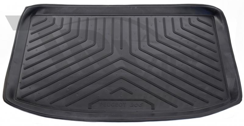 Коврик багажника для Peugeot (Пежо) 206 Хэтчбек (1998-), NPLP6426