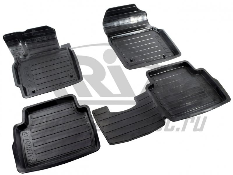 Коврики салона резиновые с бортиком для Mazda CX 5 (2012-), ADRAVG164
